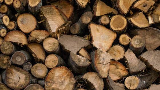 Foto brandhout